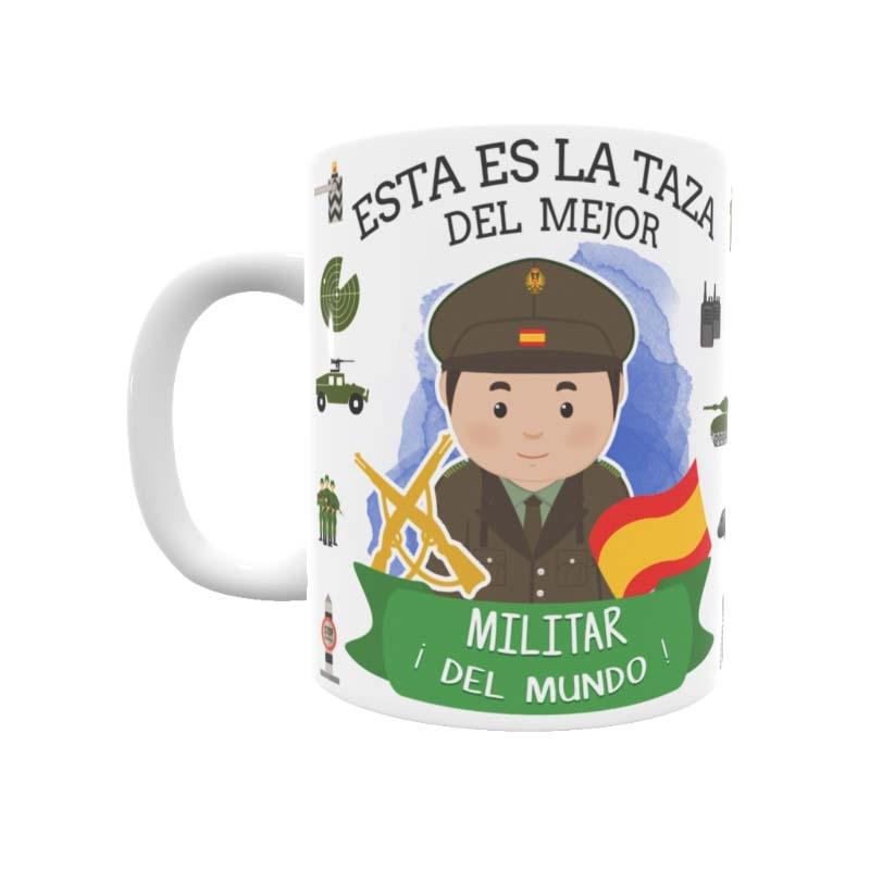 Taza para el mejor Militar con el estilo de Toto´s Shop ©.