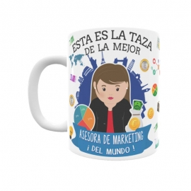 Taza - Asesora de Marketing