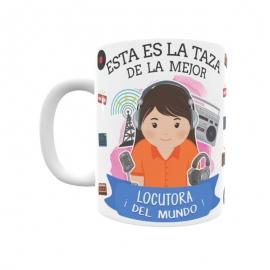 Taza - Locutora
