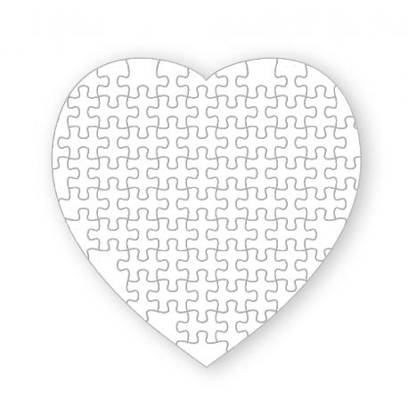 Puzzle Magnético con forma Corazón 75 Piezas