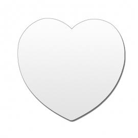 Imán corazón personalizable.