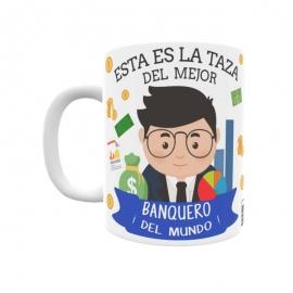Taza - Banquero