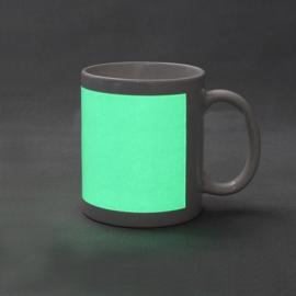 Taza personalizada con foto, luminiscente