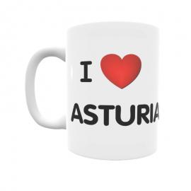 Taza - I ❤ Asturias