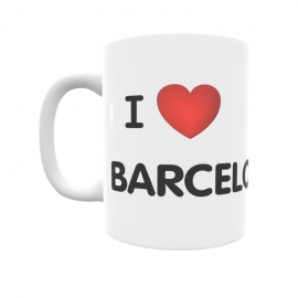 Taza - I ❤ Barcelona