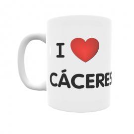 Taza - I ❤ Cáceres