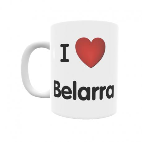 Taza - I ❤ Belarra