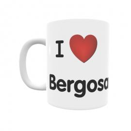 Taza - I ❤ Bergosa
