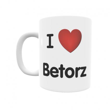 Taza - I ❤ Betorz