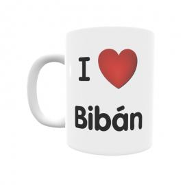 Taza - I ❤ Bibán
