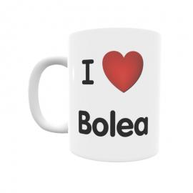 Taza - I ❤ Bolea