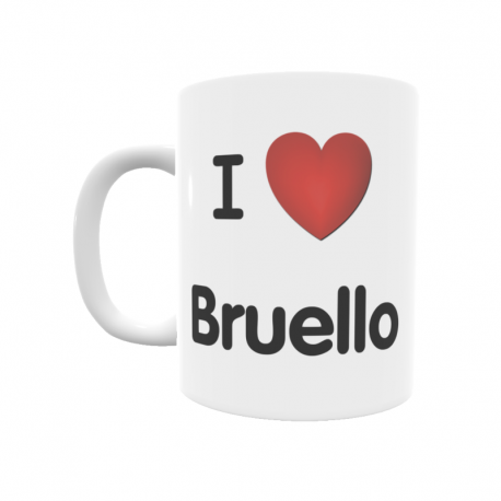 Taza - I ❤ Bruello