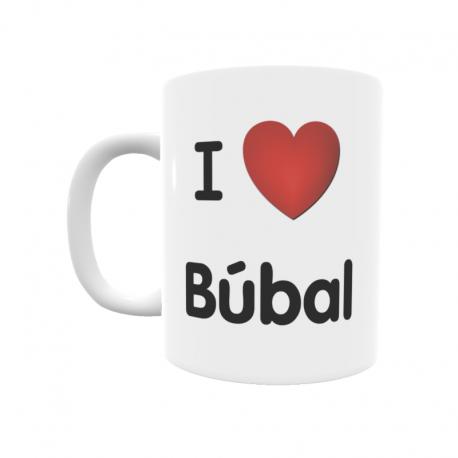 Taza - I ❤ Búbal