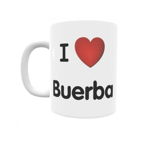 Taza - I ❤ Buerba
