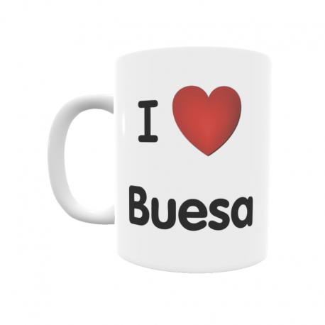 Taza - I ❤ Buesa