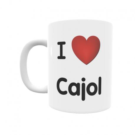 Taza - I ❤ Cajol