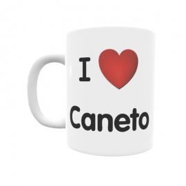 Taza - I ❤ Caneto
