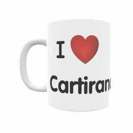 Taza - I ❤ Cartirana