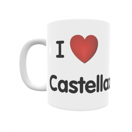 Taza - I ❤ Castellazo