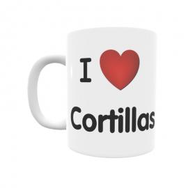 Taza - I ❤ Cortillas