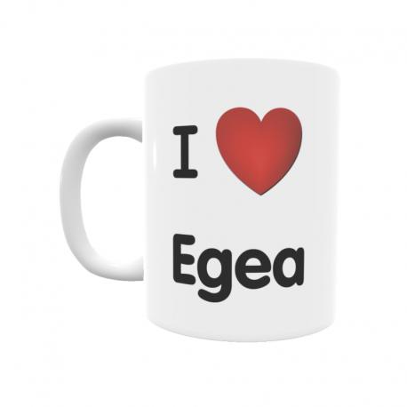 Taza - I ❤ Egea