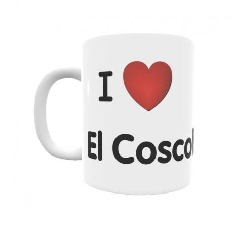 Taza - I ❤ El Coscollar