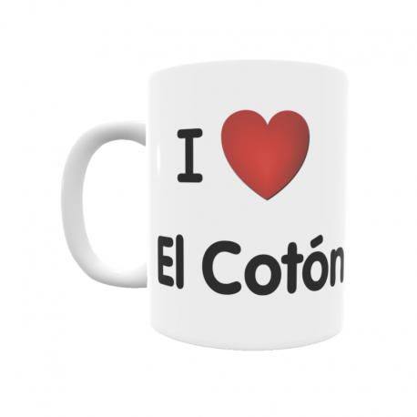 Taza - I ❤ El Cotón