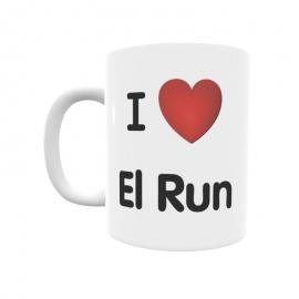 Taza - I ❤ El Run
