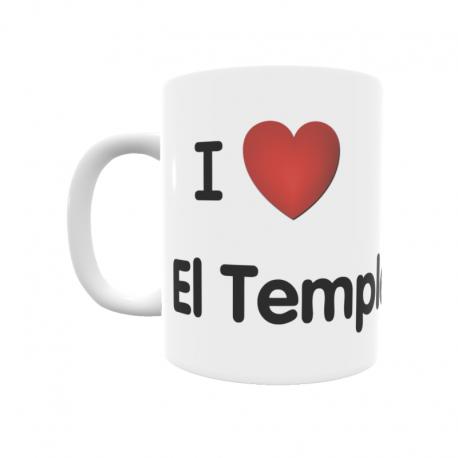 Taza - I ❤ El Temple