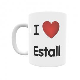 Taza - I ❤ Estall
