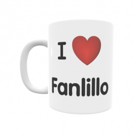 Taza - I ❤ Fanlillo