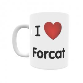 Taza - I ❤ Forcat