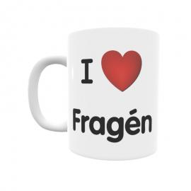 Taza - I ❤ Fragén