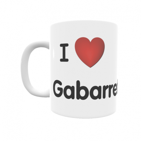 Taza - I ❤ Gabarret