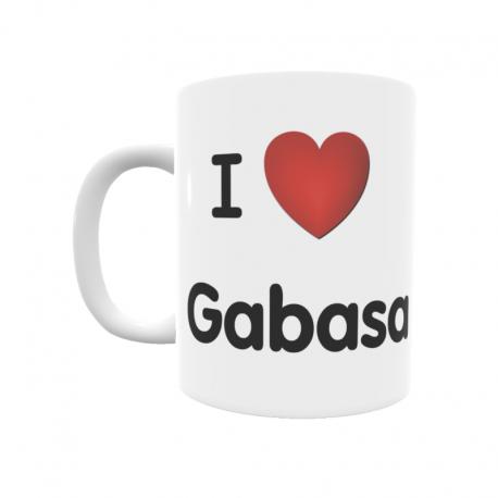 Taza - I ❤ Gabasa