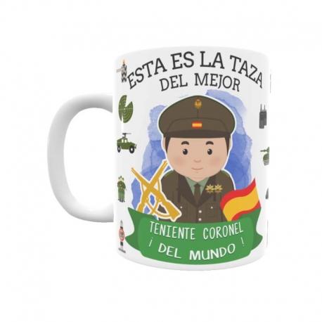 Taza - Teniente Coronel del Ejército