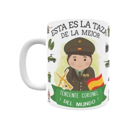 Taza - Teniente Coronel del Ejército (Ella)