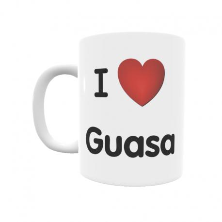 Taza - I ❤ Guasa