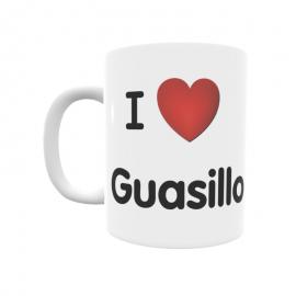 Taza - I ❤ Guasillo