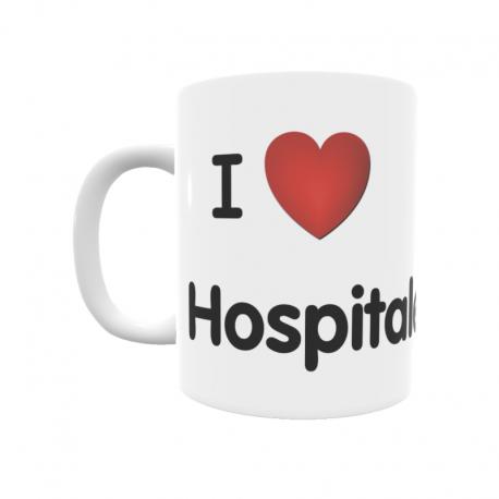 Taza - I ❤ Hospitaled