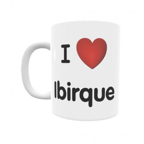 Taza - I ❤ Ibirque