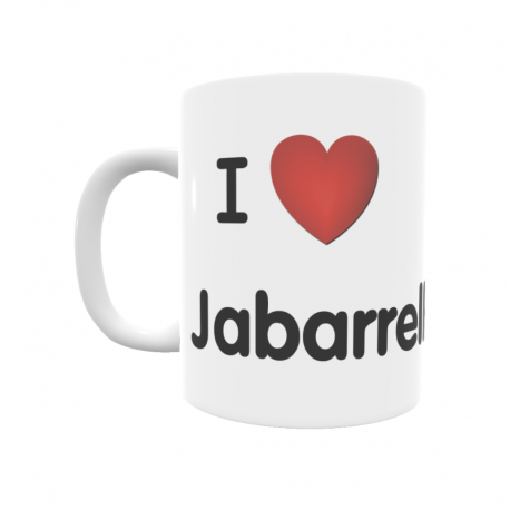 Taza - I ❤ Jabarrella