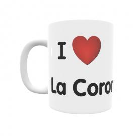Taza - I ❤ La Corona