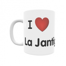 Taza - I ❤ La Jantigosa