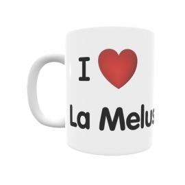 Taza - I ❤ La Melusa