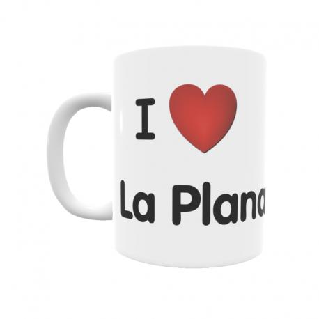 Taza - I ❤ La Plana