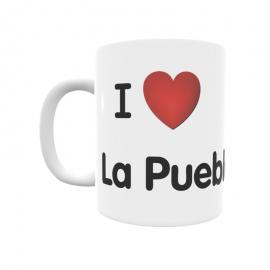 Taza - I ❤ La Puebla del Mon
