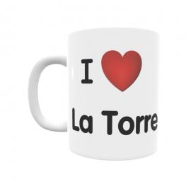Taza - I ❤ La Torre