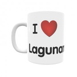 Taza - I ❤ Lagunarrota