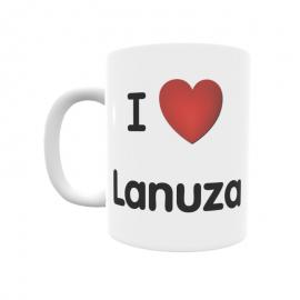 Taza - I ❤ Lanuza